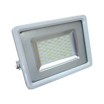 V-TAC VT-4830 WHITE Προβολέας LED SLIM Εξωτερικού Χώρου |