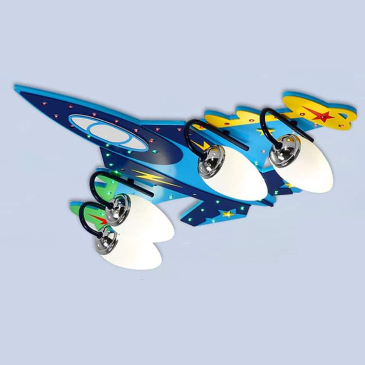 Παιδικό Φωτιστικό αεροπλανάκι με Bluetooth & Ηχείο |