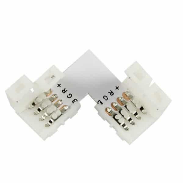 Κονέκτορας L για Ταινία LED 7.2 & 14.4 Watt RGB |