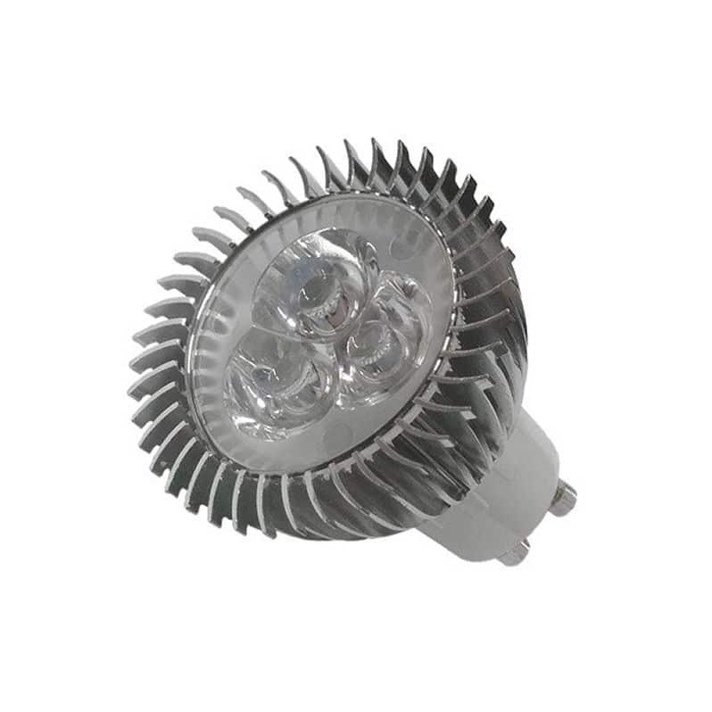 LED Σποτ GU10 3X1W Ψυχρό Λευκό 45° |