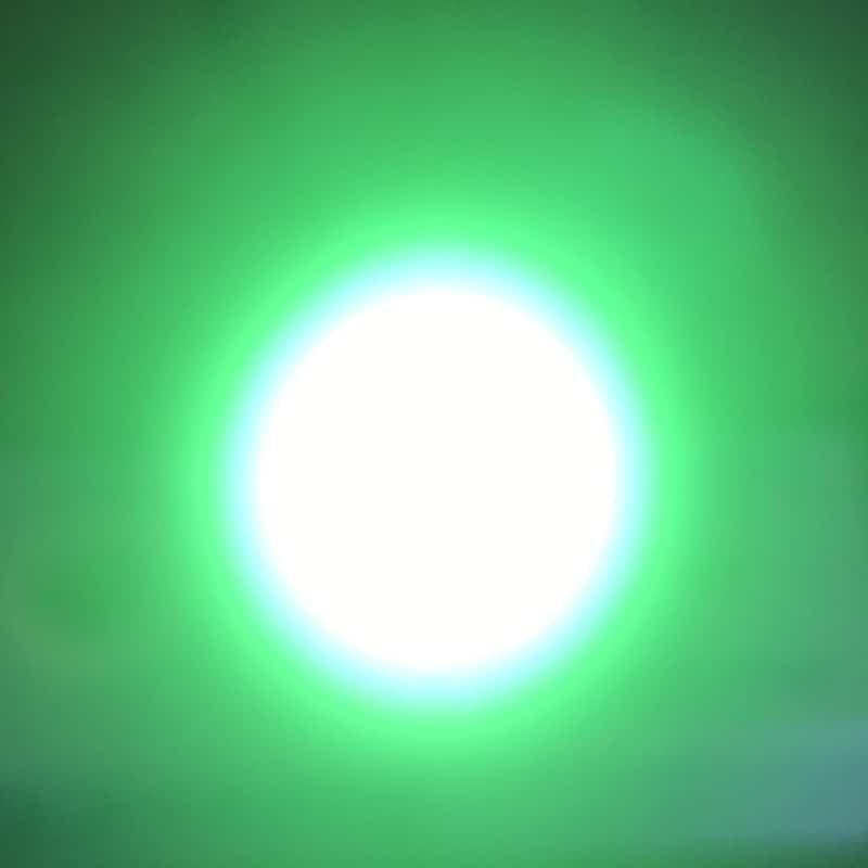 LED Σπότ GU10 6W 120˚ 230VAC ΠΡΑΣΙΝΟ  