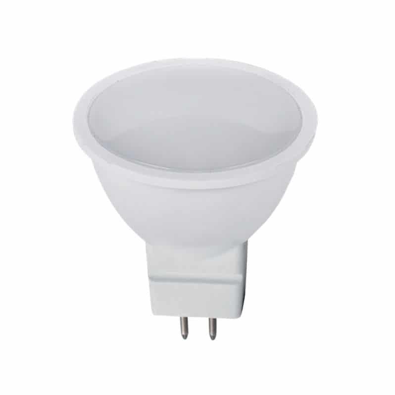 LED Σπότ MR16 6W 12VDC Θερμό Λευκό |