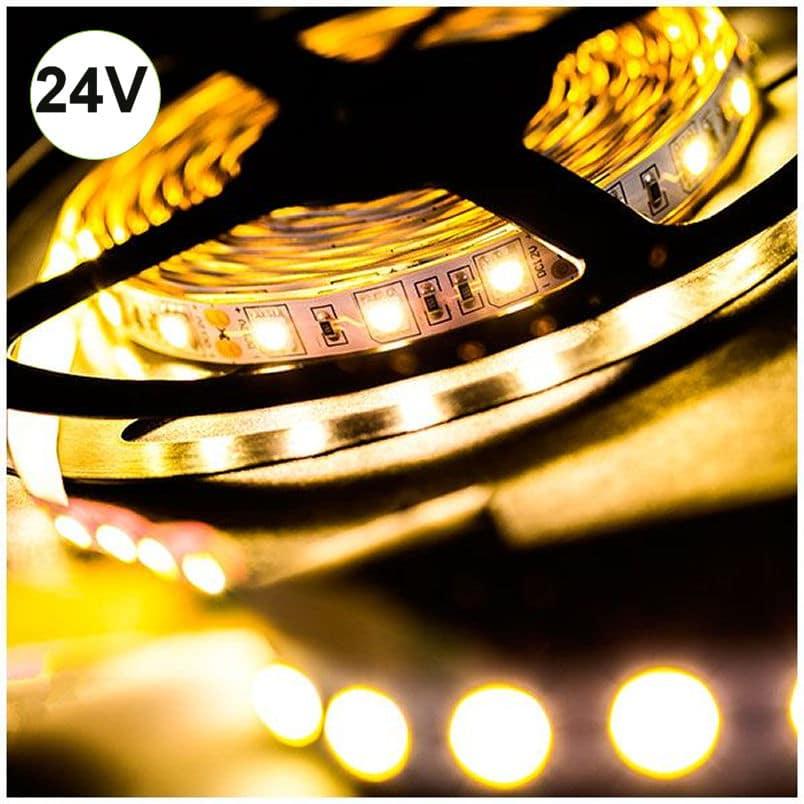 Ταινία LED 14.4W 60LED 5050 24VDC Λευκό Ημέρας IP20 |
