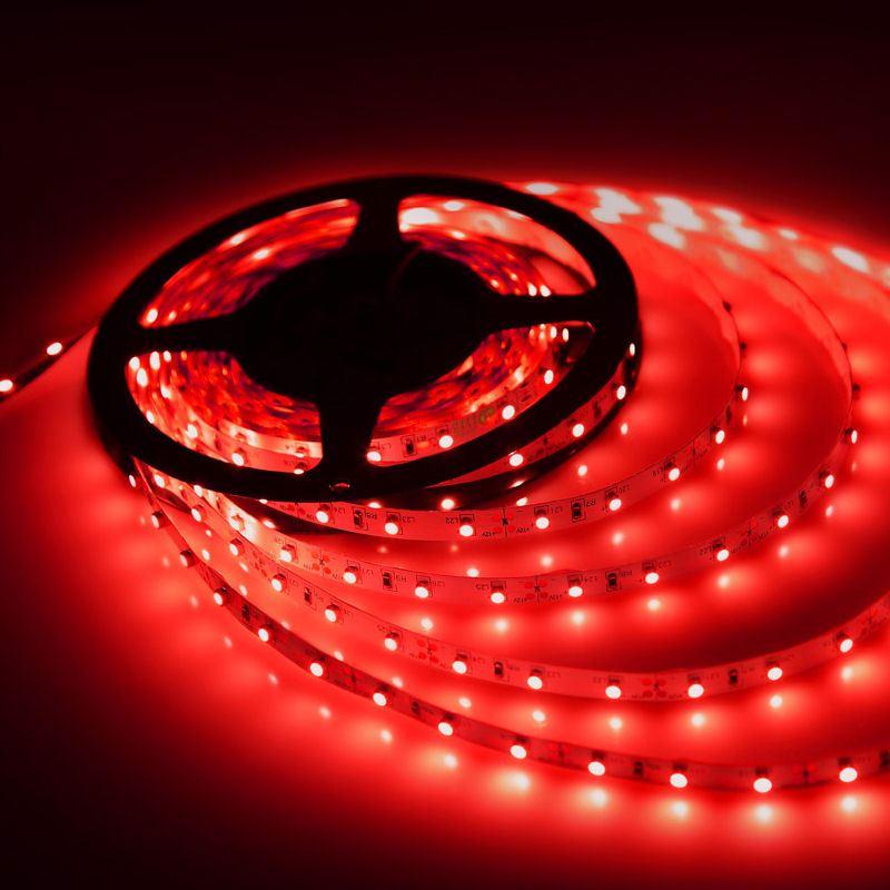 Ταινία LED 14.4W 60LED 5050 12VDC Κόκκινο IP20 - 14240 |