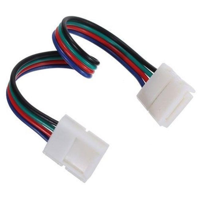 Διπλός connector για RGB 7.2W & 14.4W με καλώδιο 15cm |
