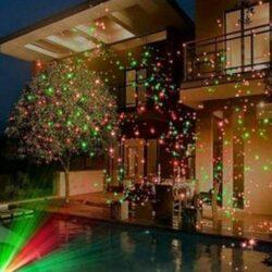 Χριστουγεννιάτικος LED Laser Projector Κήπου