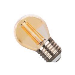 Γλομπάκι LED Ε27 2 Watt Dimmable Amber