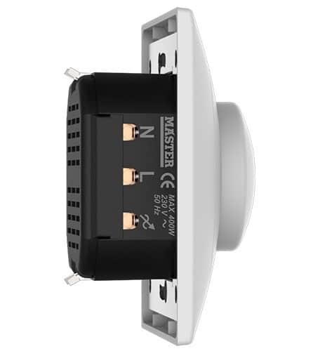 Χωνευτός Διακόπτης Dimmer LED 400W AR