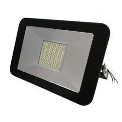 Προβολέας LED 100 Watt Slim PAD 230 Volt Ψυχρό Λευκό