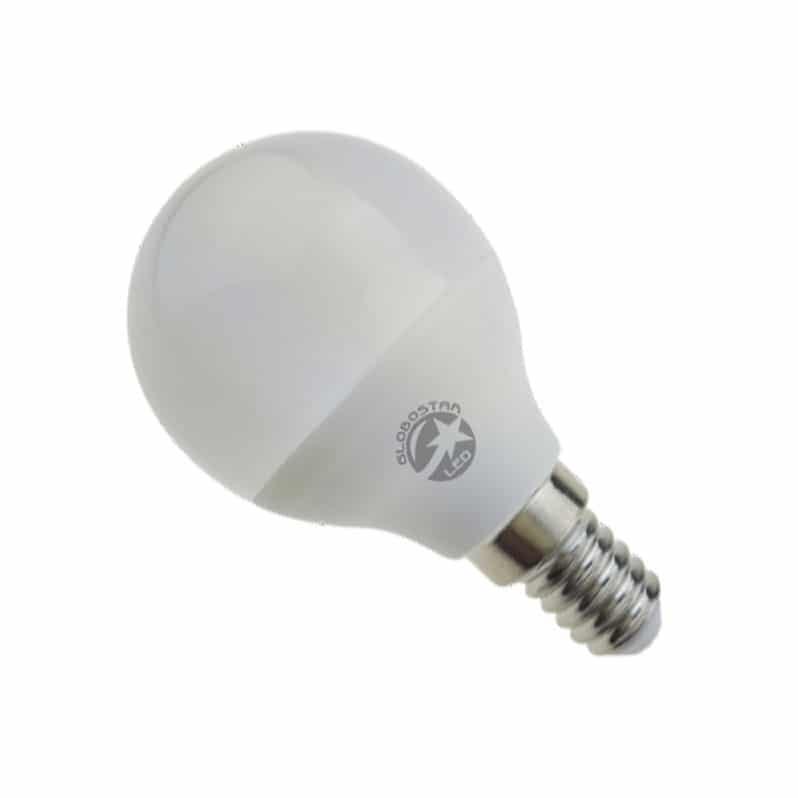 Γλομπάκι LED E14 6W 170-265V Θερμό Λευκό