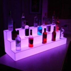 LED Display Μπουκαλιών Stairs RGB