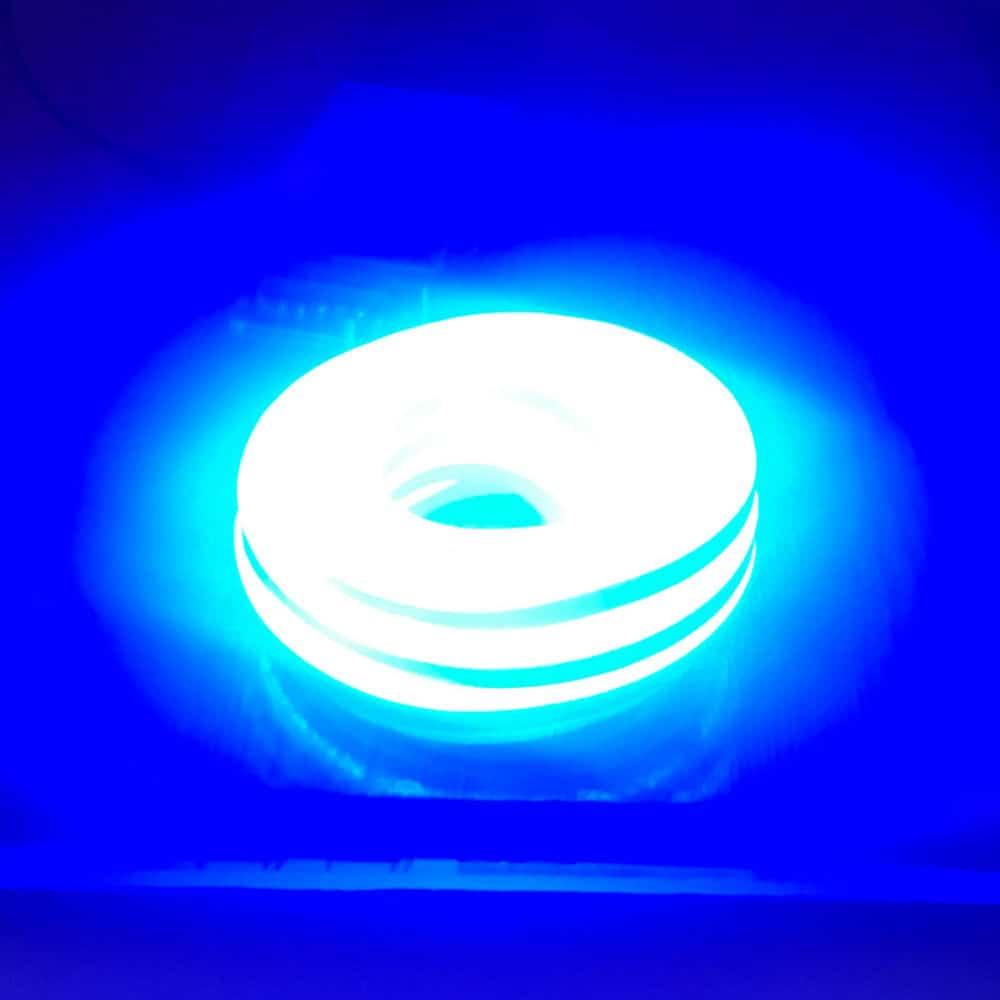 LED Neon Flex 12W 24V IP65 Μπλέ Dimmable